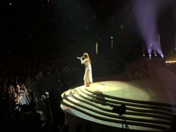 KeyArena, section: 117, row: 9, seat: 5