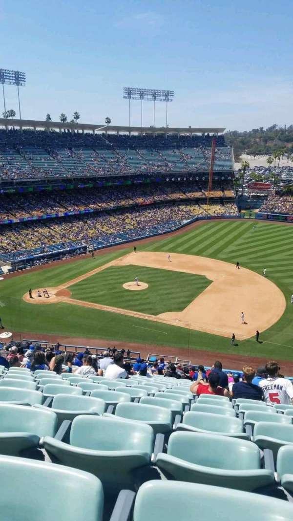 Dodger Stadium, section: 24RS, row: V, seat: 16