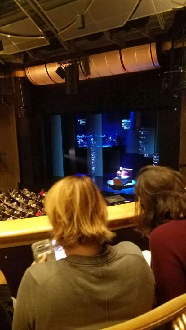 Ahmanson Theatre, section: mezz, row: b, seat: 2