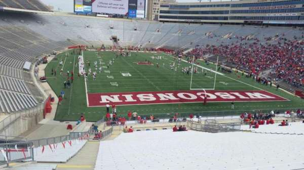 Camp Randall Stadium, section: z3, row: 57, seat: 36