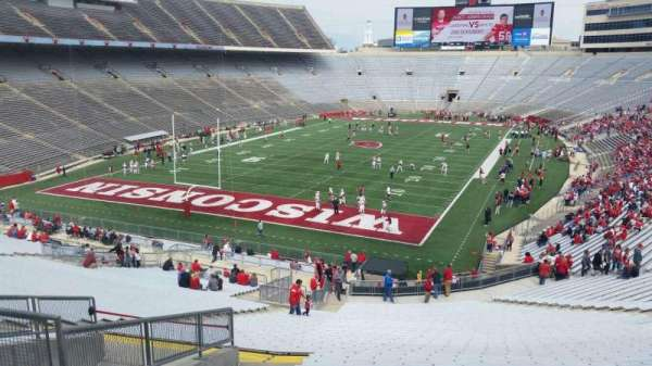 Camp Randall Stadium, section: y2, row: 57, seat: 36