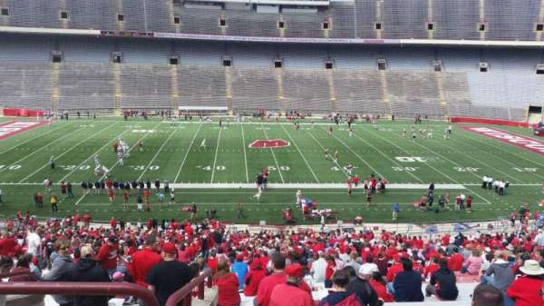 Camp Randall Stadium, section: t, row: 57, seat: 36