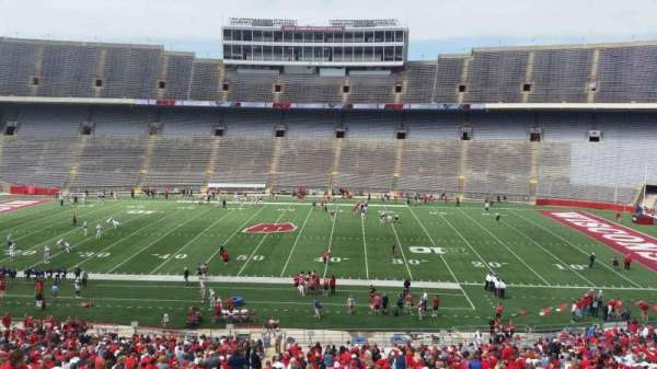 Camp Randall Stadium, section: s, row: 57, seat: 36