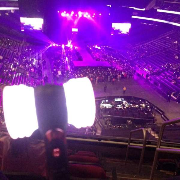 Prudential Center, section: 101, row: 6, seat: 2