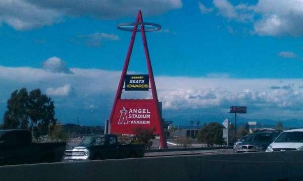 Angel Stadium, section: Big A
