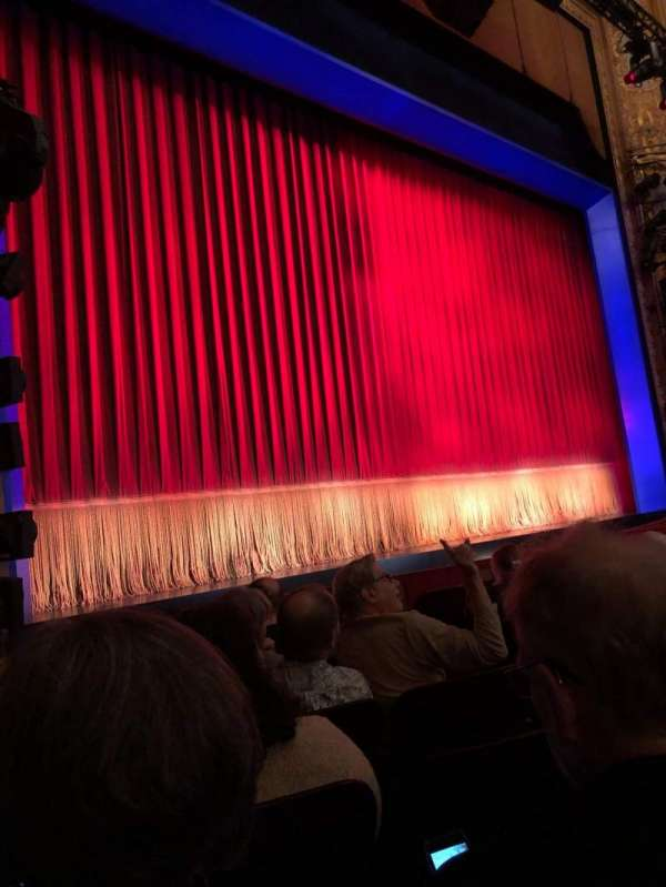 Longacre Theatre, section: Orchestra L, row: G, seat: 10