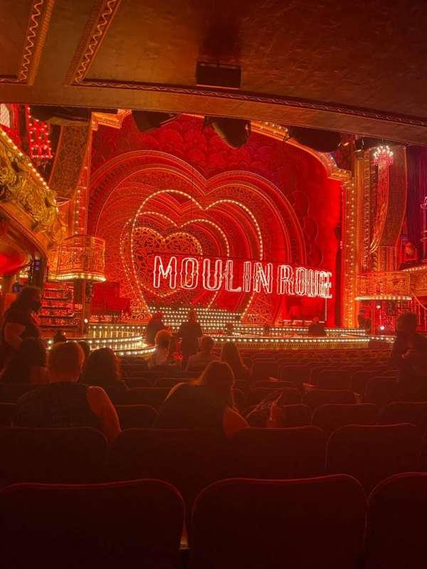 Al Hirschfeld Theatre, section: Orchestra L, row: P, seat: 13