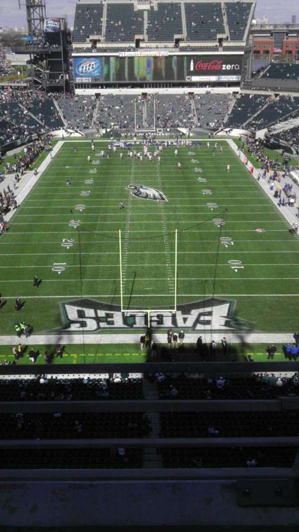 Lincoln Financial Field, section: 212, row: 2, seat: 15