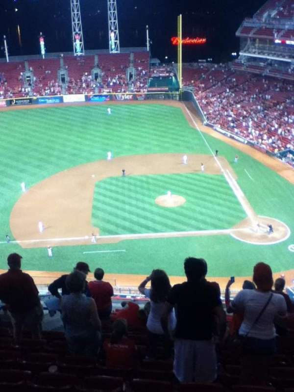 Great American Ball Park, section: 518, row: N, seat: 18