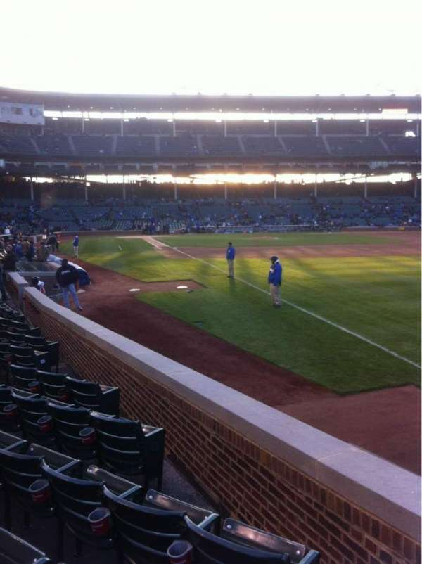 Wrigley Field, section: 38, row: 9, seat: 13