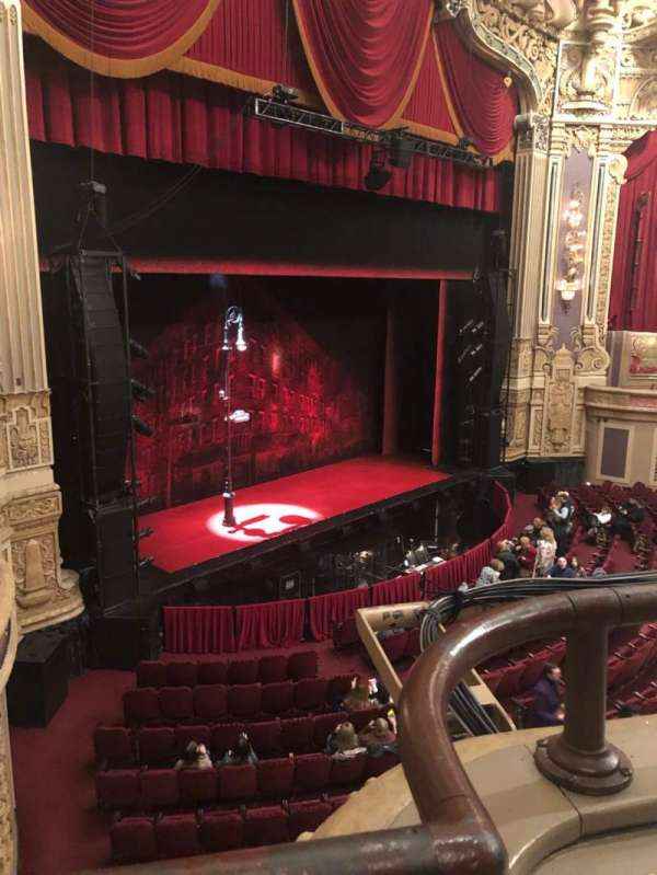 James M. Nederlander Theatre, section: Loge L, row: A, seat: 371
