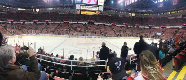 Joe Louis Arena, section: 122, row: 11, seat: 5