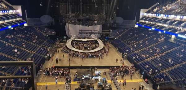 The O2 Arena, section: 411, row: D, seat: 712
