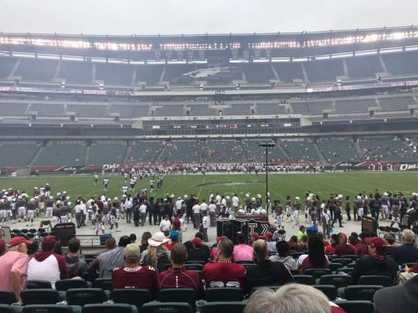 Lincoln Financial Field, section: 120, row: 13, seat: 18
