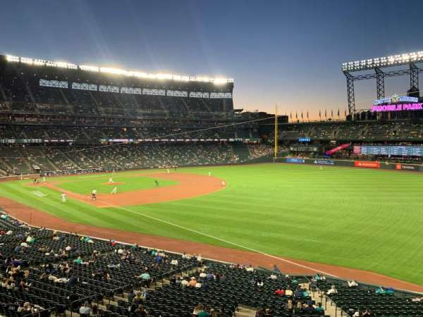 T-Mobile Park, section: 214, row: 1, seat: 1