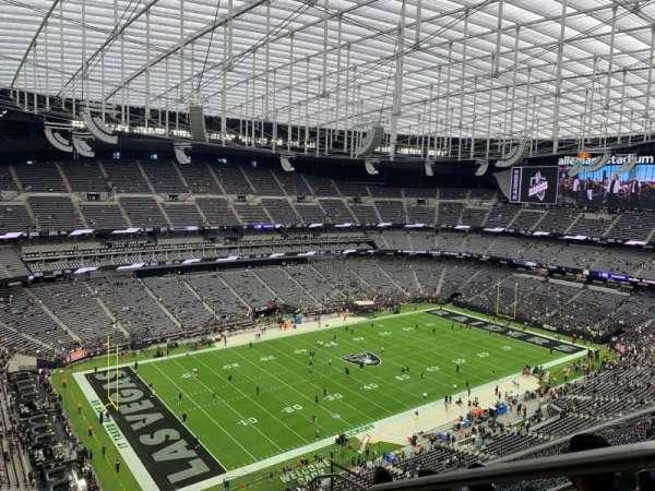 Allegiant Stadium, section: 444, row: 7, seat: 1