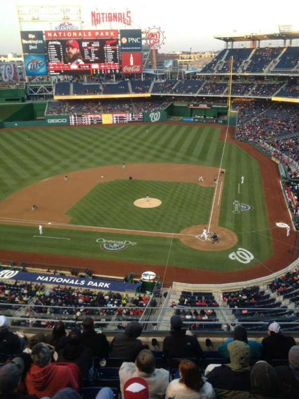 Nationals Park, section: 310, row: J, seat: 5