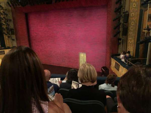 Shubert Theatre, section: Mezzanine R, row: E, seat: 16