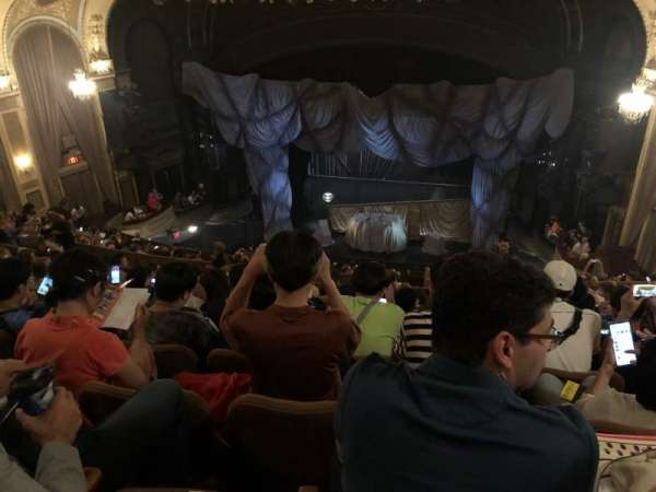 Majestic Theatre, section: Rear Mezzanine RC, row: K, seat: 118-124