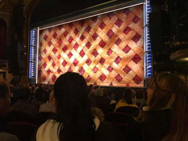 Brooks Atkinson Theatre, section: Orchestra R, row: K, seat: 14