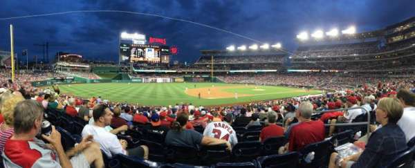 Nationals Park, section: 113, row: FF