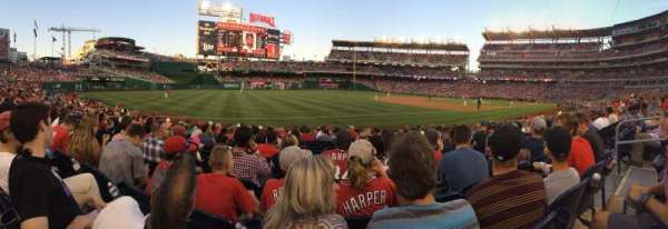 Nationals Park, section: 111, row: P