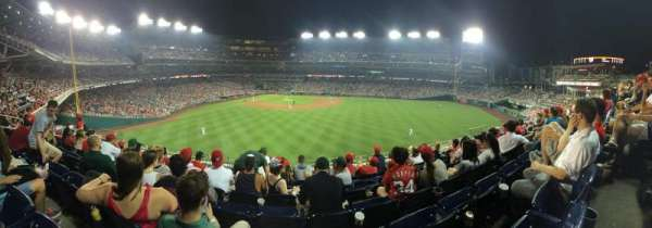 Nationals Park, section: 243, row: G