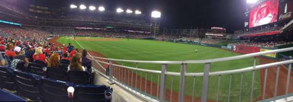 Nationals Park, section: 137, row: V