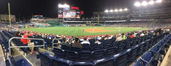 Nationals Park, section: 114, row: V, seat: 15
