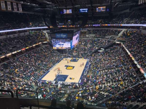 Bankers Life Fieldhouse, section: 215, row: 6, seat: 15