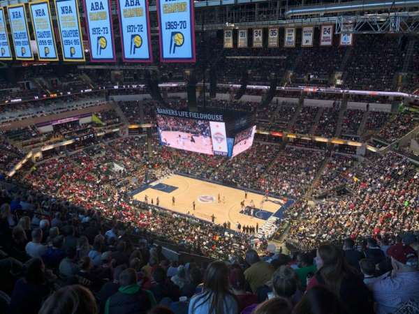 Bankers Life Fieldhouse, section: 206, row: 19, seat: 12