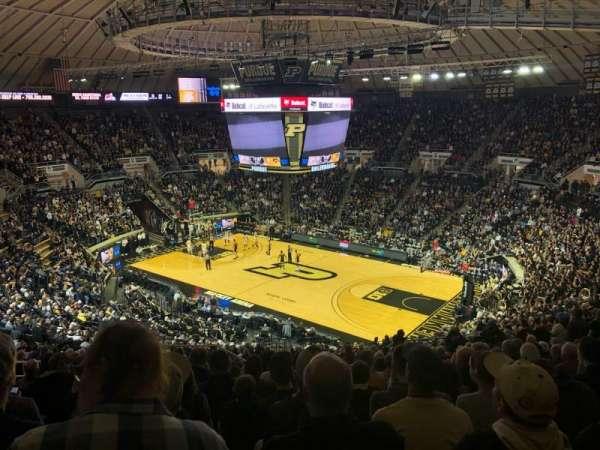 Mackey Arena, section: 108, row: 22, seat: 18
