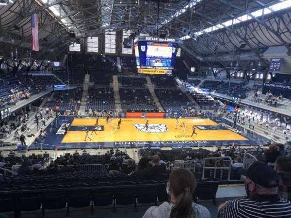 Hinkle Fieldhouse, section: 319, row: 5, seat: 10