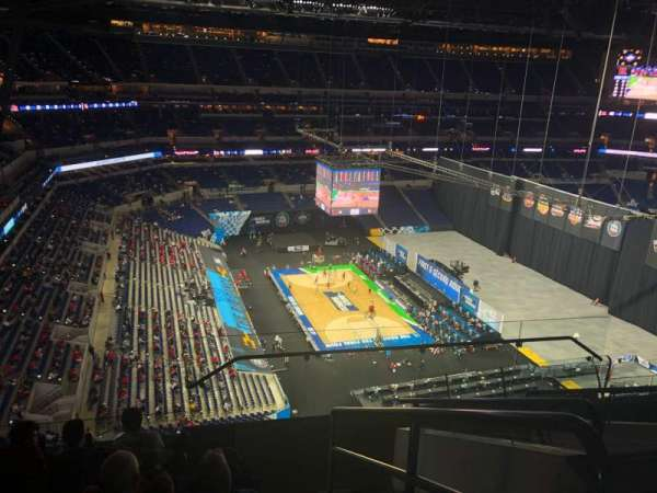 Lucas Oil Stadium, section: 619, row: 7, seat: 1