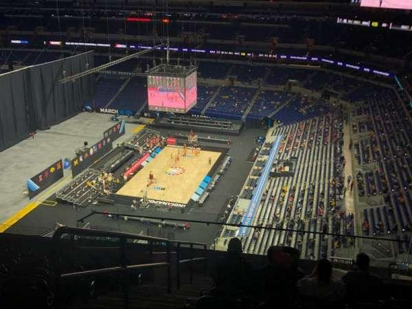 Lucas Oil Stadium, section: 634, row: 12, seat: 14