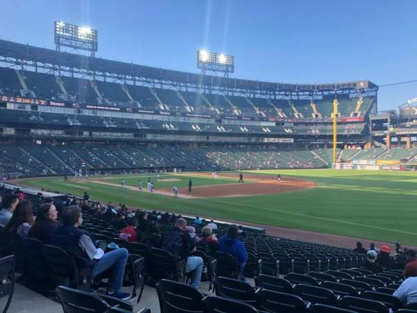 Guaranteed Rate Field, section: 116, row: 22, seat: 5