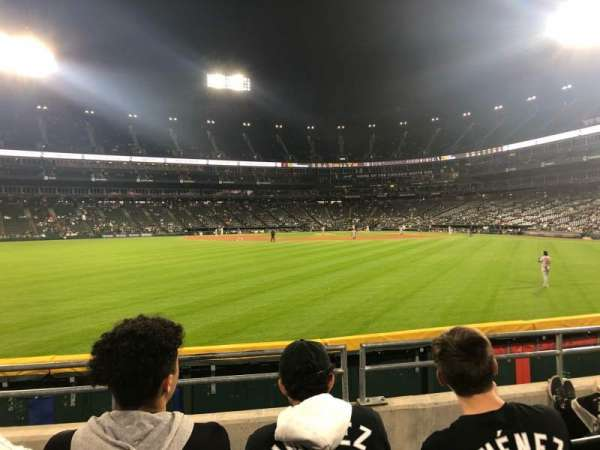 Guaranteed Rate Field, section: 161, row: 4, seat: 12