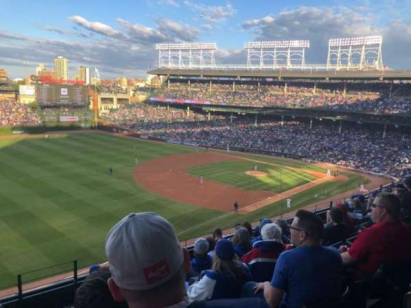 Wrigley Field, section: 305L, row: 8, seat: 23