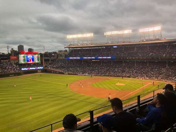 Wrigley Field, section: 305L, row: 3, seat: 7