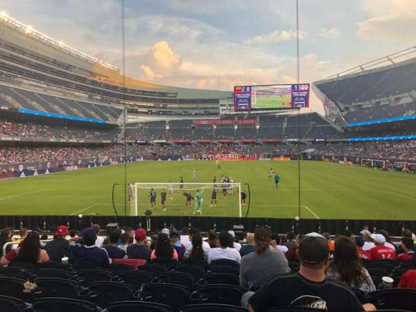 Soldier Field, section: 151, row: 13, seat: 8