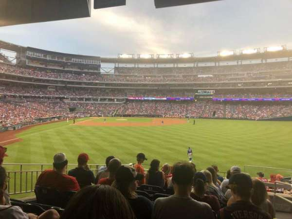 Nationals Park, section: 139, row: P, seat: 1