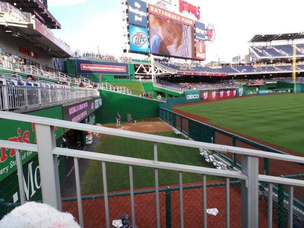 Nationals Park, section: 103, row: G, seat: 10