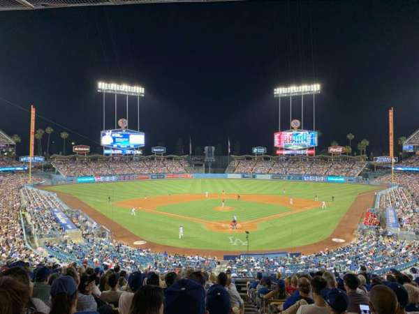 Dodger Stadium, section: 103LG, row: P, seat: 1