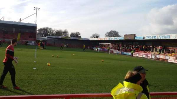 Broadfield Stadium, section: East Stand