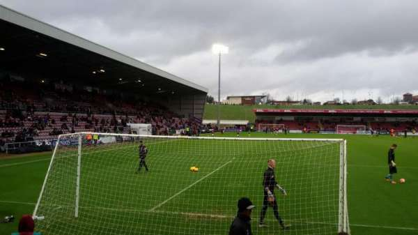 Sixfields Stadium, section: South Stand