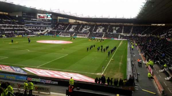 Pride Park, section: South East Corner