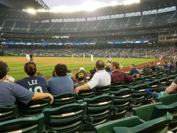T-Mobile Park, section: 143, row: 6, seat: 13
