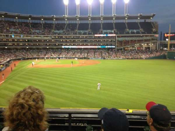 Progressive Field, section: 309, row: C, seat: 22