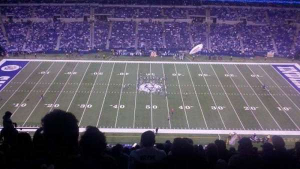 Lucas Oil Stadium, section: 640, row: 14, seat: 15