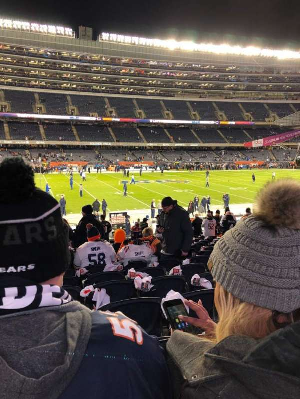 Soldier Field, section: 140, row: 18, seat: 1